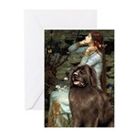Ophelia / Newfoundland Greeting Cards (Pk of 10)