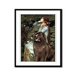 Ophelia / Newfoundland Framed Panel Print