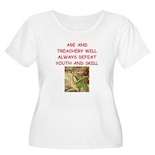 i love archery Plus Size T-Shirt