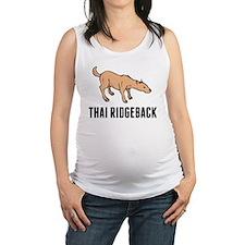 Thai Ridgeback Maternity Tank Top