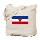 Yugoslavian Flag Tote Bag