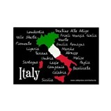 Regions of Italy Magnet