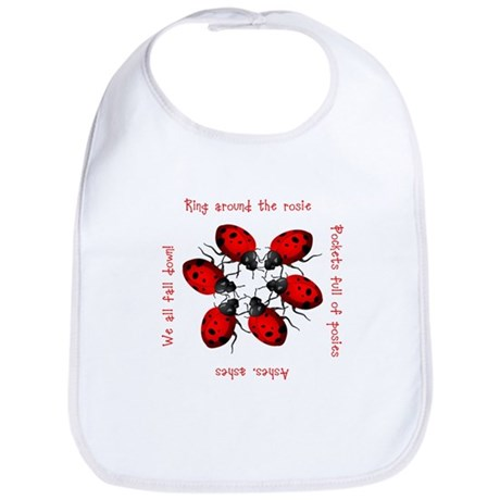 Ladybugs Playing Bib