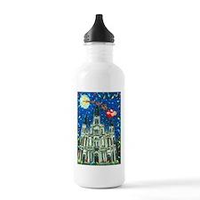New Orleans Cheristmas Water Bottle