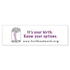 birthNETWORK Bumper Bumper Sticker