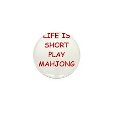 Unique Mahjongg Mini Button (10 pack)