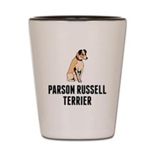 Parson Russell Terrier Shot Glass