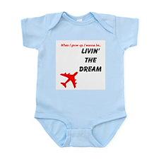 Cute Airplane toddler Infant Bodysuit