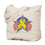 Support Our Troops Star Tote Bag
