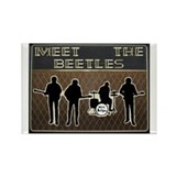 Meet The Beetles Rectangle Magnet (10 pack)