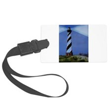 Cape Hatteras Lighthouse Christm Luggage Tag