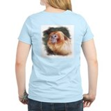 Golden Lion Tamarin Women's Pink T-Shirt
