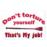Don't torture youself Postcards (Package of 8)