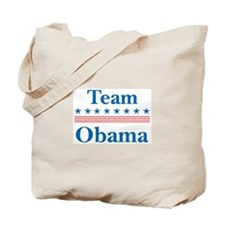 Team Obama Tote Bag