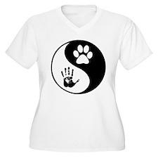 Balancing Humanity Plus Size T-Shirt