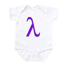 Lavender Lambda Infant Bodysuit