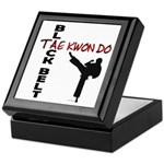 Tae Kwon Do Black Belt 2 Keepsake Box