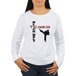 Tae Kwon Do Black Belt 2 Women's Long Sleeve T-Shi