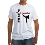 Tae Kwon Do Black Belt 2 Fitted T-Shirt