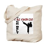 Tae Kwon Do Black Belt 2 Tote Bag