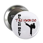 Tae Kwon Do Black Belt 2 Button