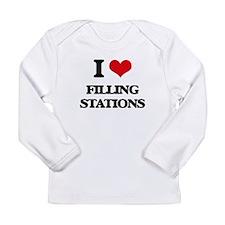 I Love Filling Stations Long Sleeve T-Shirt