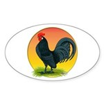 Sunrise Dutch Bantam Oval Sticker