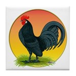 Sunrise Dutch Bantam Tile Coaster