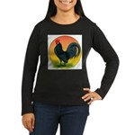 Sunrise Dutch Bantam Women's Long Sleeve Dark T-Sh
