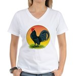 Sunrise Dutch Bantam Women's V-Neck T-Shirt