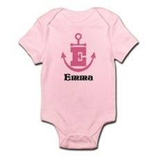 Custom Anchor Monogram E Body Suit