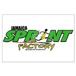 Jamaica Sprint Factory Large Poster