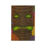 LOTUS TIKI Rectangle Magnet (100 pack)