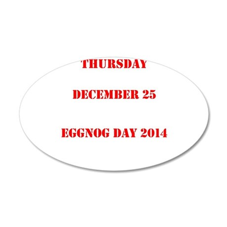 Eggnog Day Wall Decal