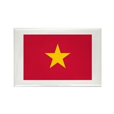 Vietnamese Flag Rectangle Magnet (100 pack)
