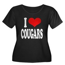 I Love Cougars T