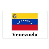 Venezuela Flag Rectangle Decal
