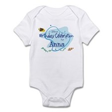 Celebration for Anna (fish) Infant Bodysuit