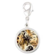Season of the Witch Silver Round Charm