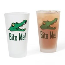 Unique A is for alligator Drinking Glass