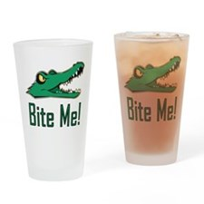 Cute Gator Drinking Glass