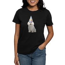 Bichon Frise Party Women's Dark T-Shirt