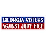 Georgia Voters Against Jody Hice Bumper Sticker