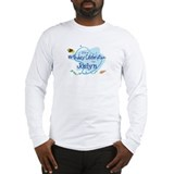 Celebration for Joslyn (fish) Long Sleeve T-Shirt