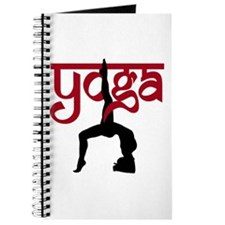 Yoga One-Legged Bridge Pose Journal