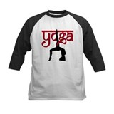Yoga One-Legged Bridge Pose Tee
