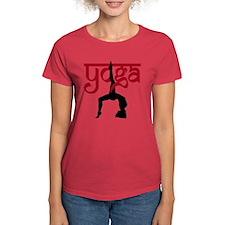 Yoga One-Legged Bridge Pose Tee