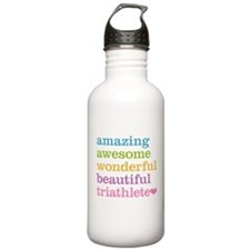 Awesome Triathlete Water Bottle