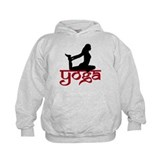 Yoga One-Legged King Pigeon Pose Hoodie