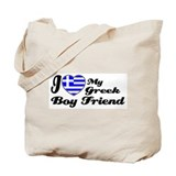 I love my Greek Boy friend Tote Bag